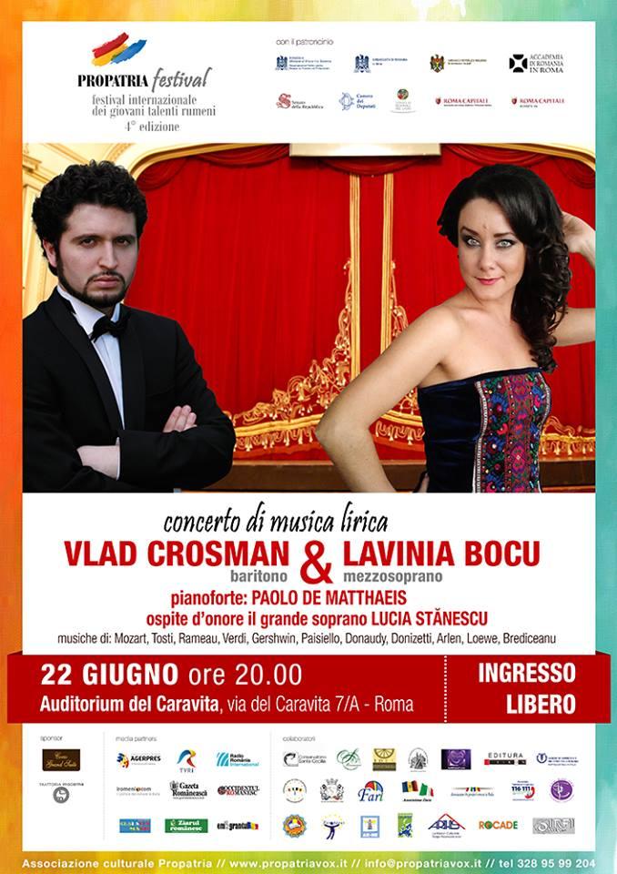 Concerto di Musica Lirica - Vlad Crossman e Lavinia Bocu