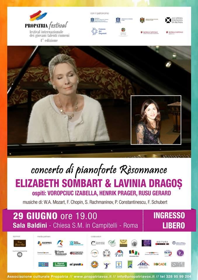 Concerto di pianoforte Resonnance