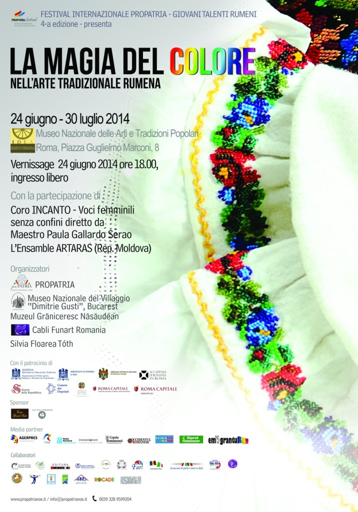 La Magia del Colore nell'Arte Tradizionale Rumena
