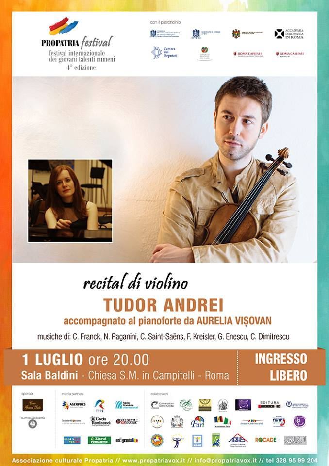 Recital di violino di Tudor Andrei