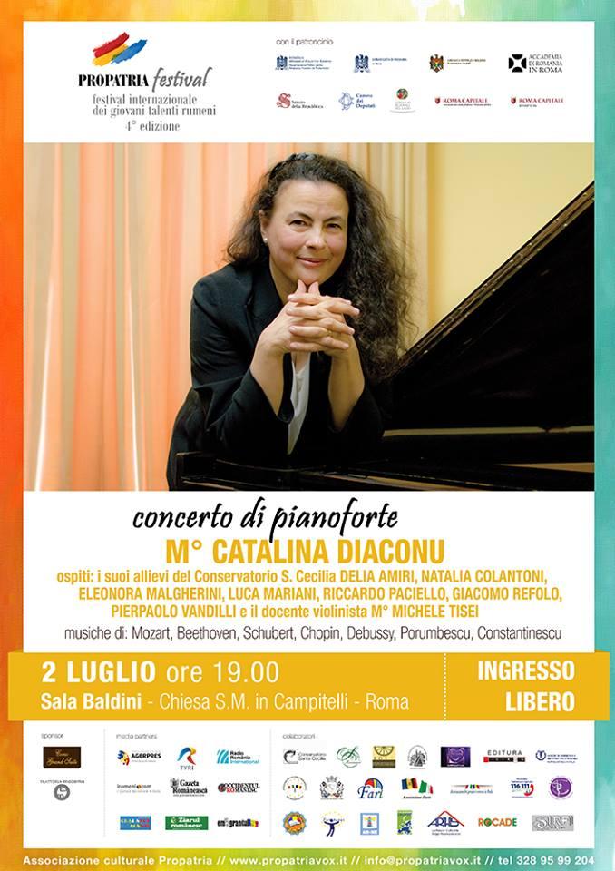Recitalo di pianoforte - Catalina Diaconu