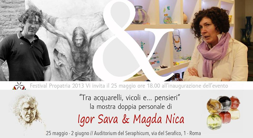 Mostra di pittura firmata IGOR SAVA 2