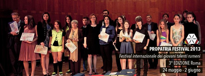 Propatria - Gala dei Giovani Talenti 2013 -2