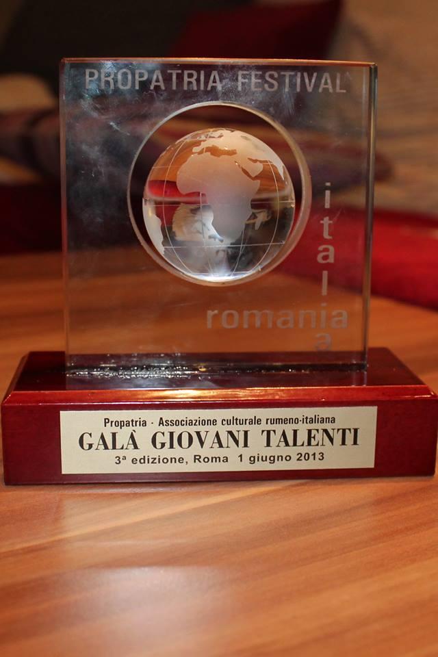 Propatria - Gala dei Giovani Talenti 2013 -4