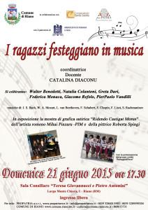 locandina def concerto Riano 21.06.2015