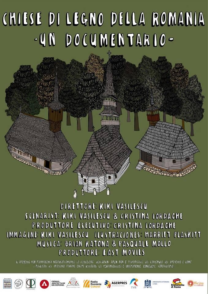 locandina Chiese di legno della Romania